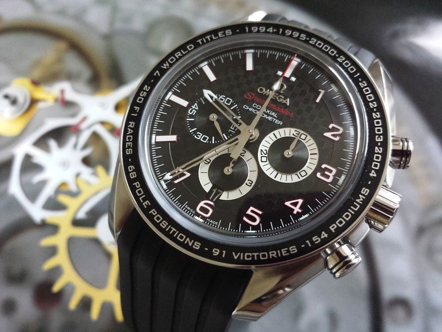 Michael Schumacher Omega Speedmaster Vintage Replica Watches Aaa