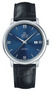 The Omega De Ville is available in a variety of metals and dial colors.