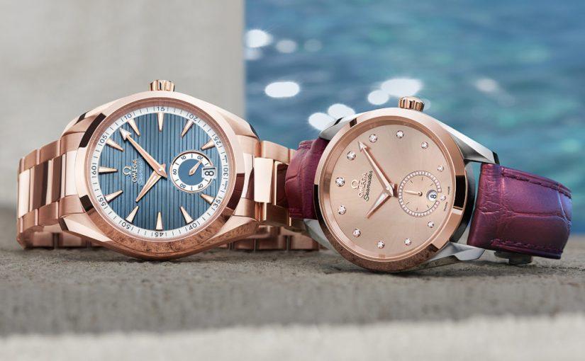 Omega Replica Adds Small Seconds Subdials to Seamaster Aqua Terra Collection